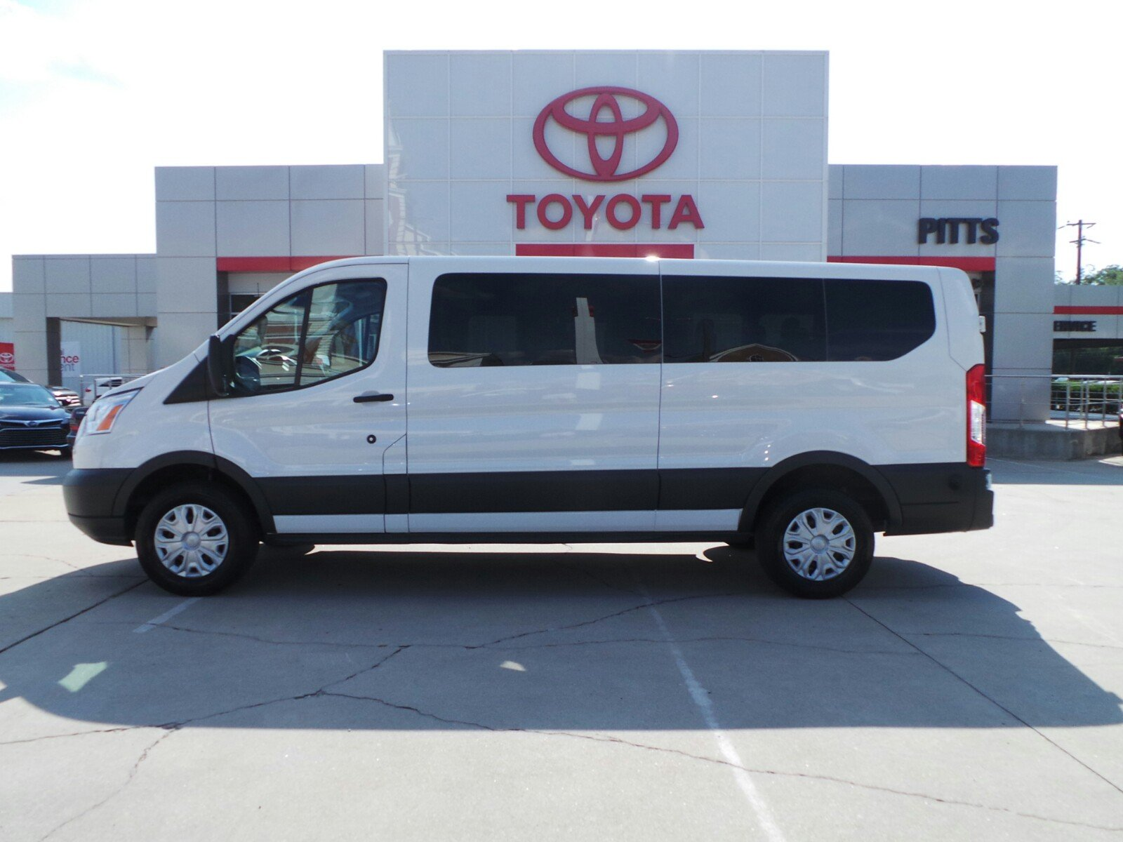 pre owned 2016 ford transit wagon xlt full size passenger van in dublin 95531 pitts toyota. Black Bedroom Furniture Sets. Home Design Ideas