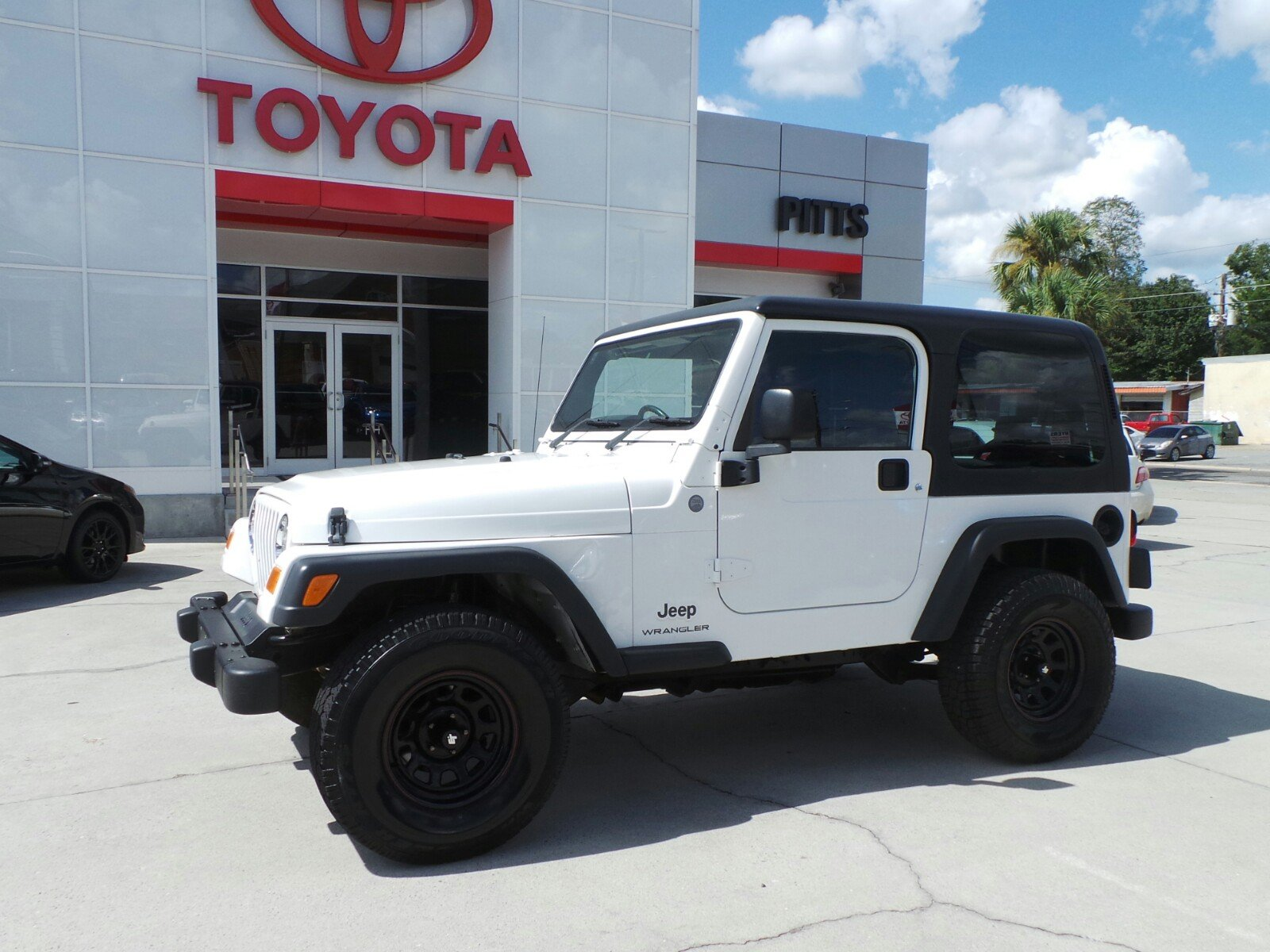 Pre Owned 2004 Jeep Wrangler Sport Right Hand Drive