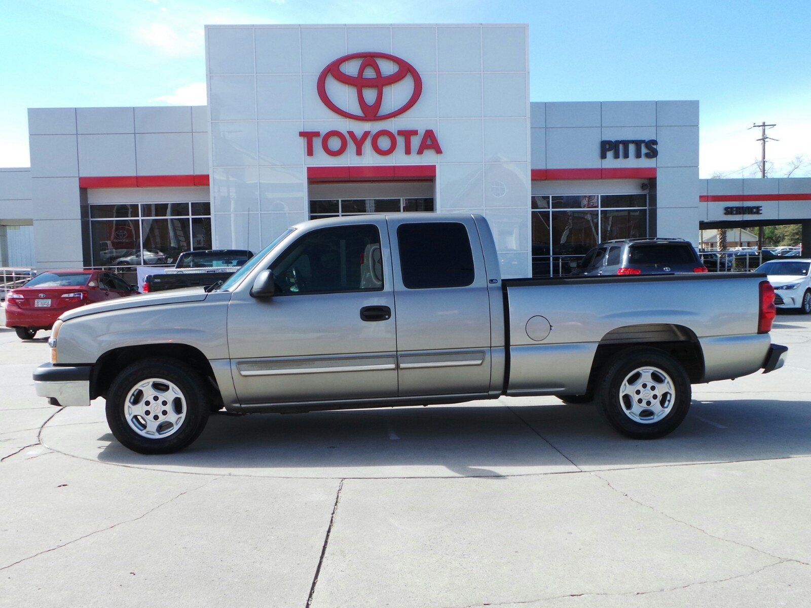 Pre Owned 2003 Chevrolet Silverado 1500 Extended Cab Pickup in