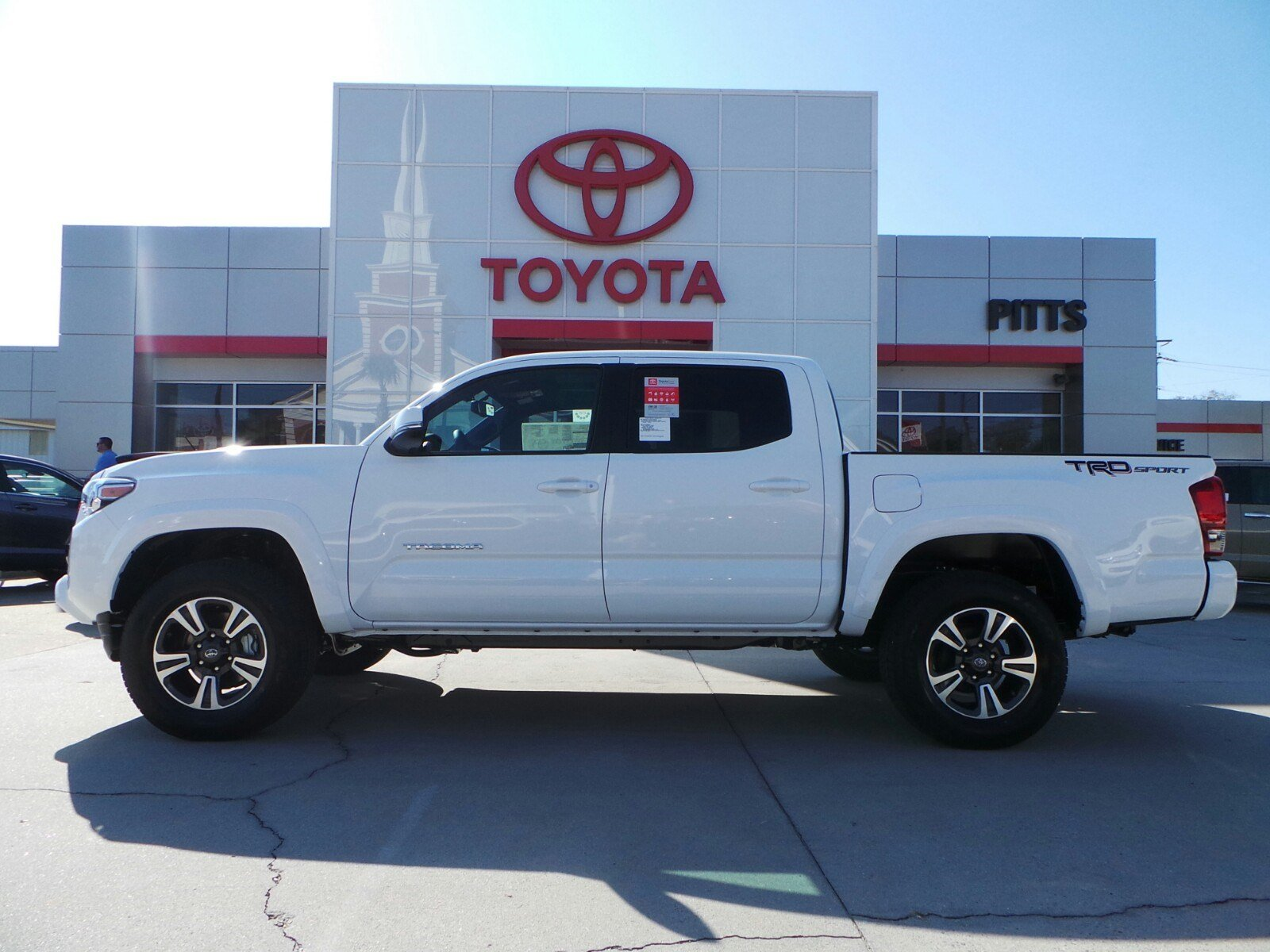 New 2017 Toyota Tacoma Trd Sport Double Cab In Dublin 890