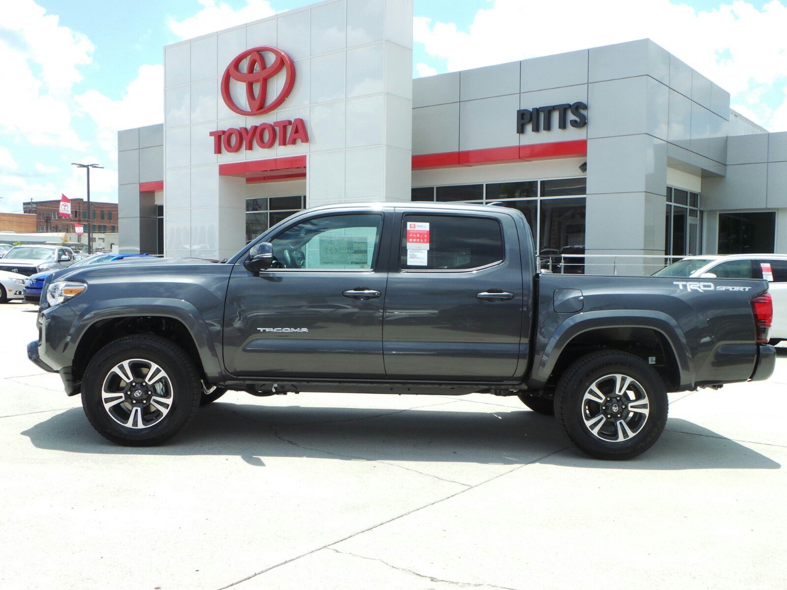 Toyota Tacoma Trd Sport >> New 2018 Toyota Tacoma Trd Sport Double Cab In Dublin 8617 Pitts