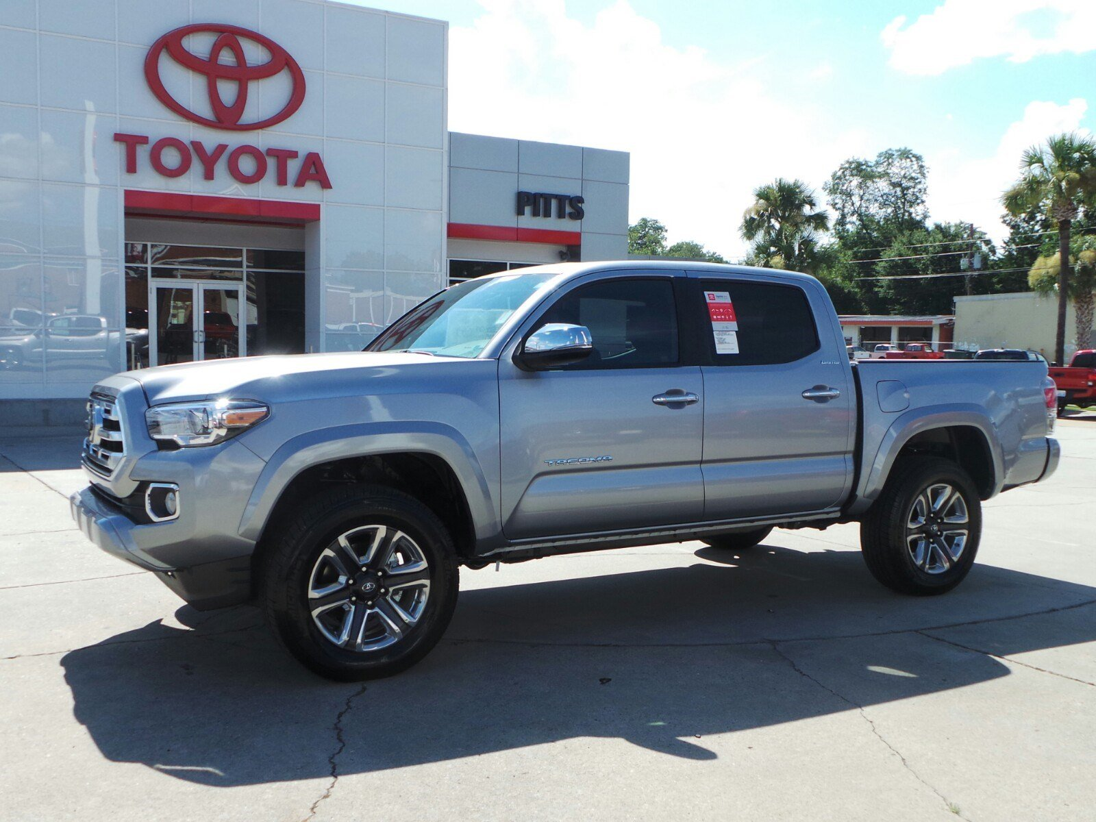 Toyota Tacoma Limited >> New 2018 Toyota Tacoma Limited Double Cab In Dublin 8691 Pitts Toyota