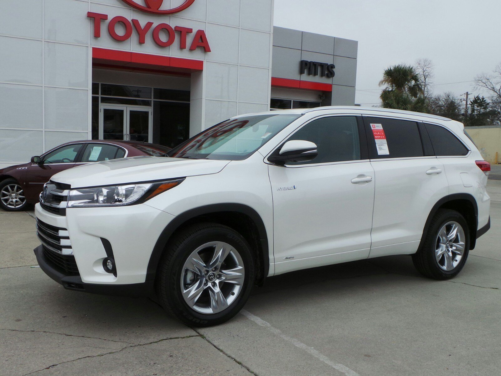 New 2019 Toyota Highlander Hybrid Limited Sport Utility In Dublin