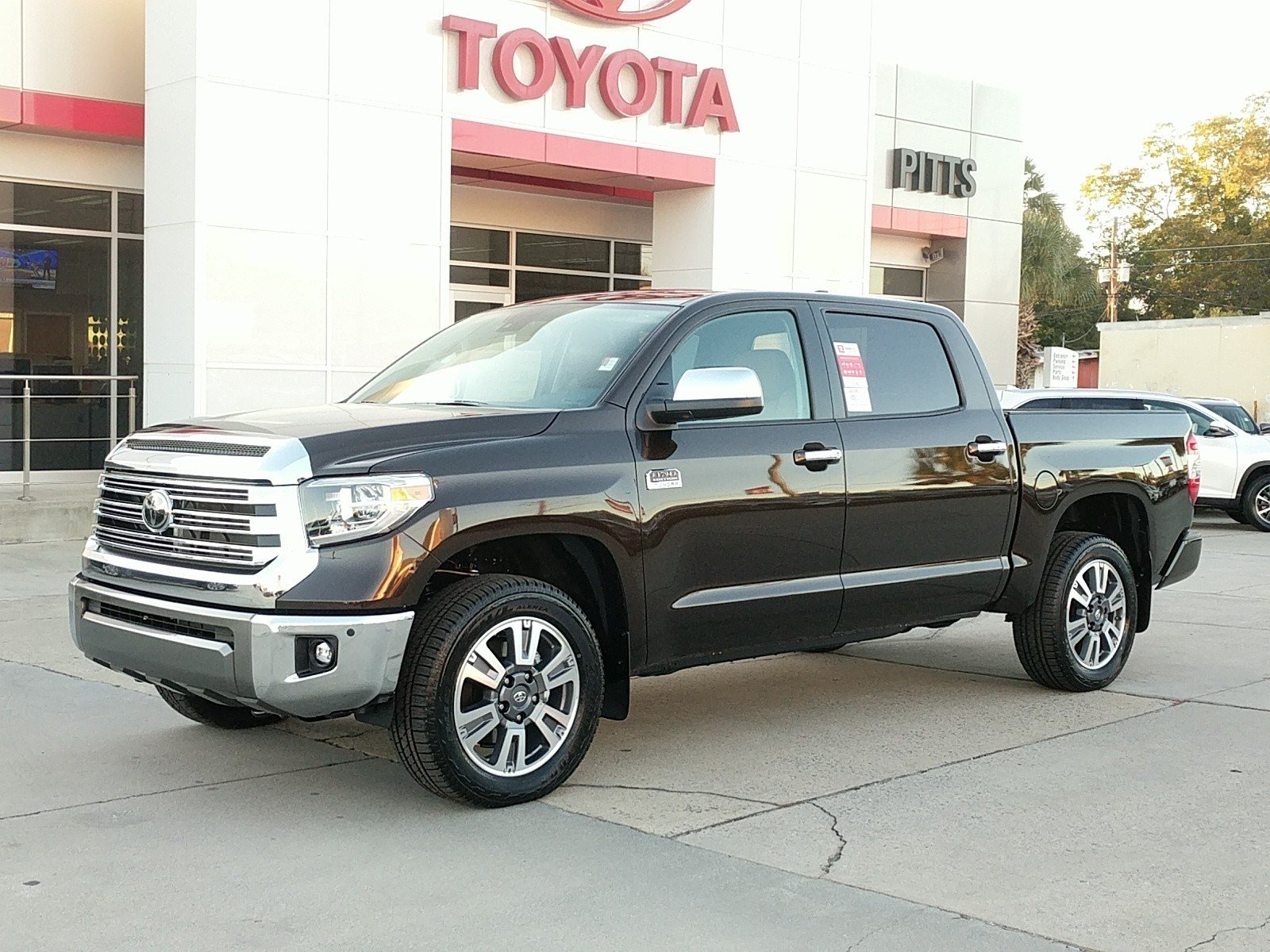 Tundra 1794 Edition >> New 2020 Toyota Tundra 1794 Edition 1794 Edition Crewmax 5 5 Bed 5 7l Natl