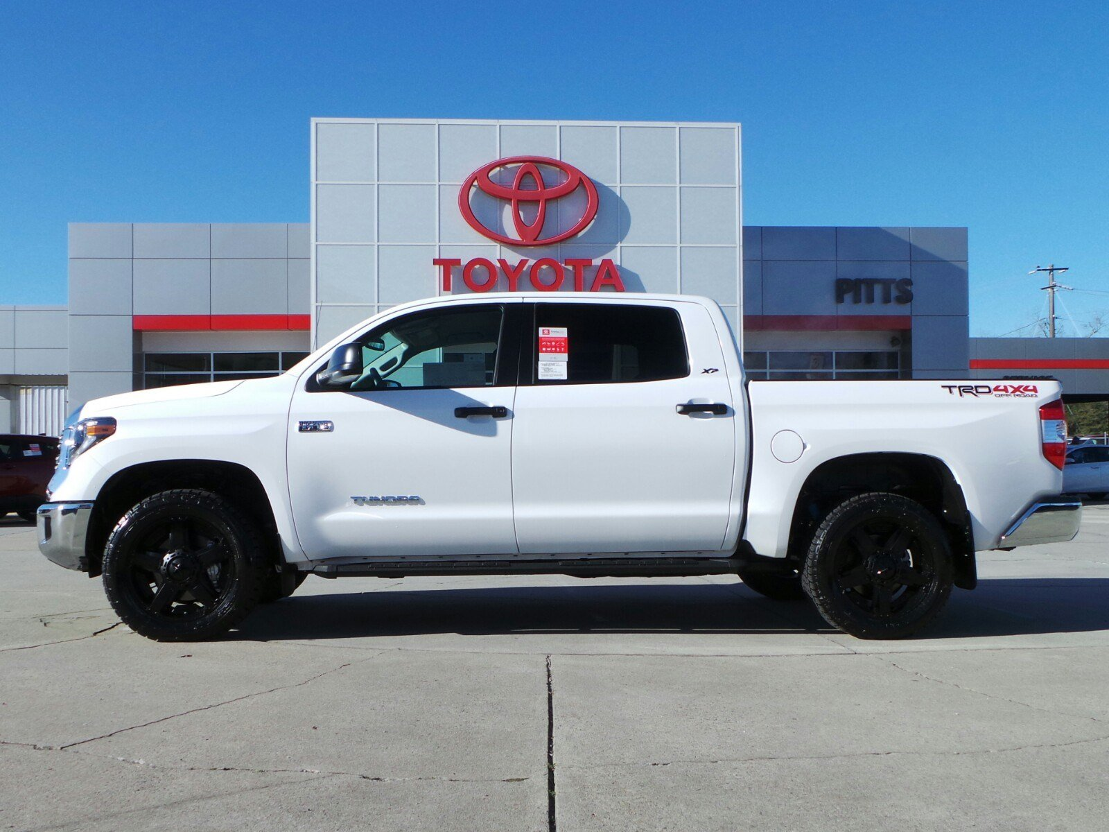 crewmax in inventory petersburg toyota tundra edition east new