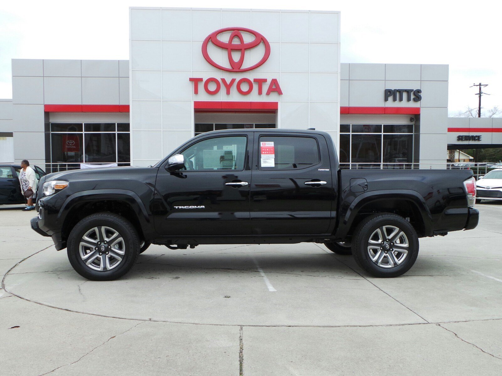 New 2018 Toyota Tacoma Limited Double Cab in Dublin #8035 | Pitts Toyota
