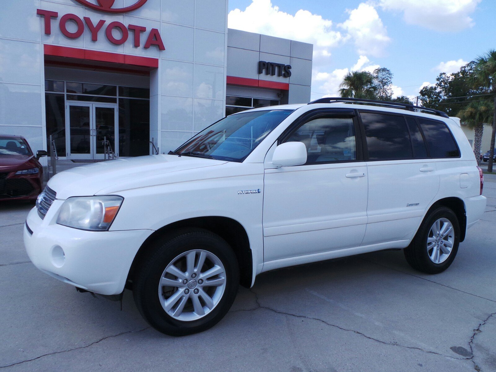 Pre Owned 2007 Toyota Highlander Hybrid W/3rd Row