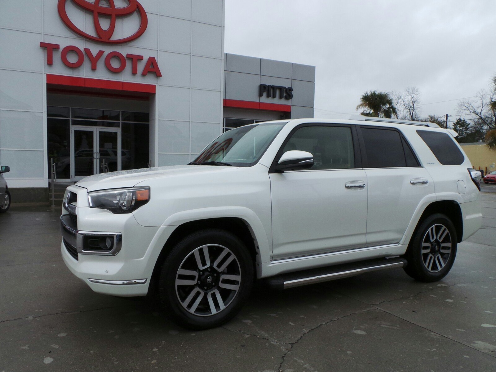 pre-owned 2014 toyota 4runner limited sport utility in dublin #8881a