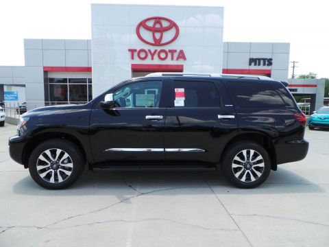 New 2018 Toyota Sequoia Limited With Navigation